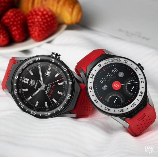 "TAG Heuer Connected Modular智能腕表 智能联接 智选""芯""意"