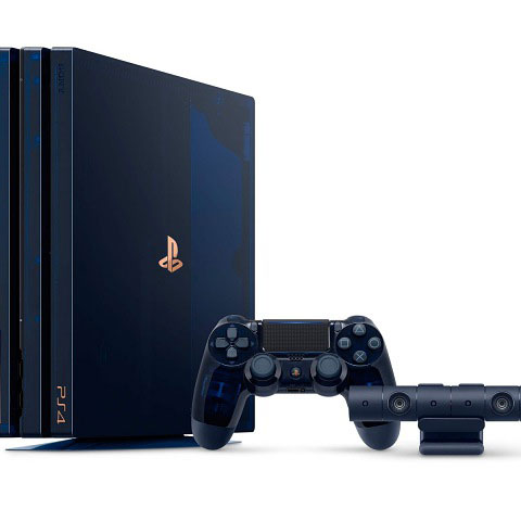帅到超想买!这是 PS4 Pro 500 Million Limited Edition 限量款