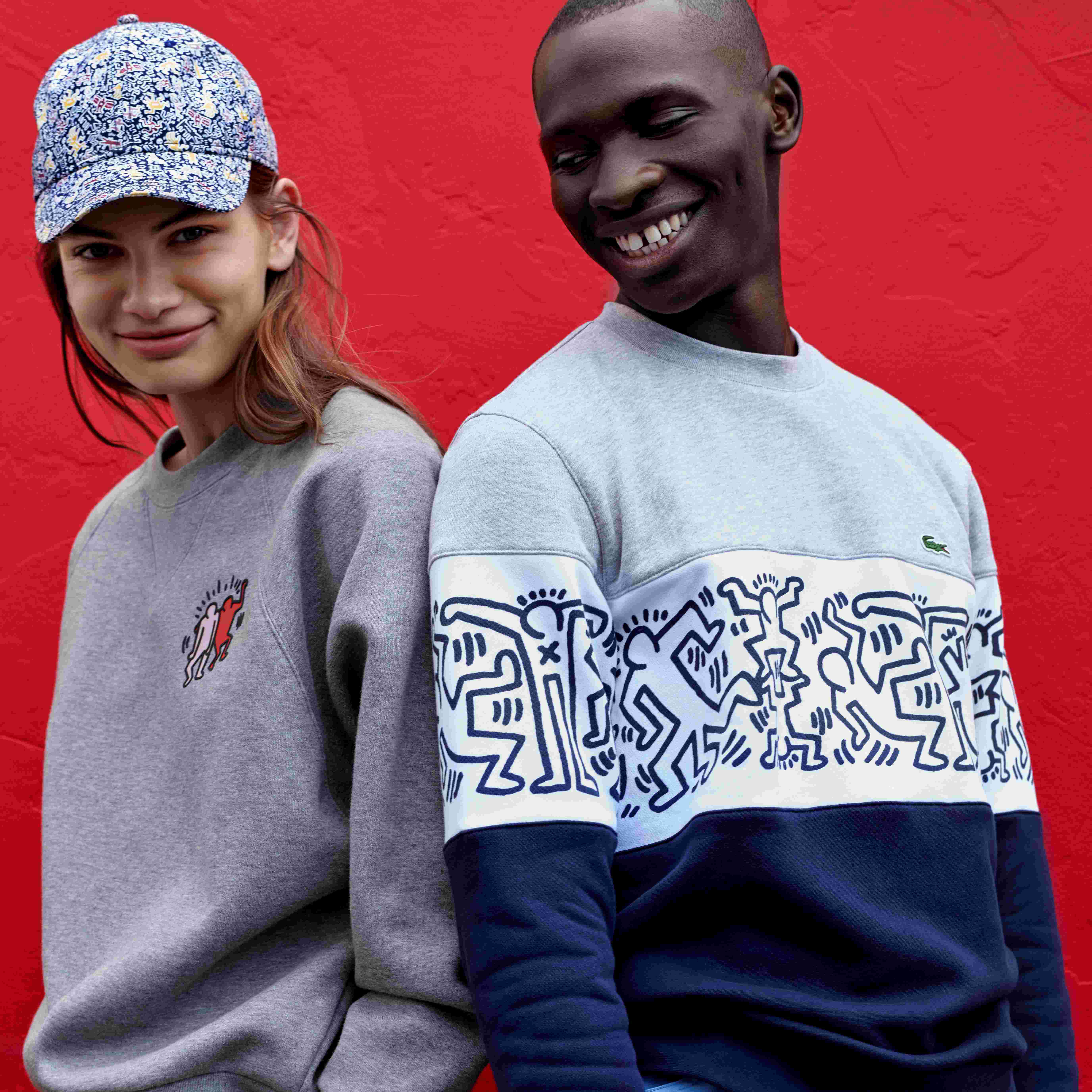 LACOSTE × KEITH HARING 艺术联名系列