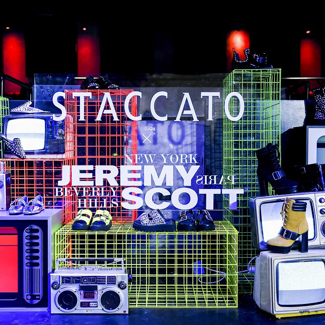 STACCATO×JEREMY SCOTT 三城限定店潮燃开启,Launch Party引爆上海