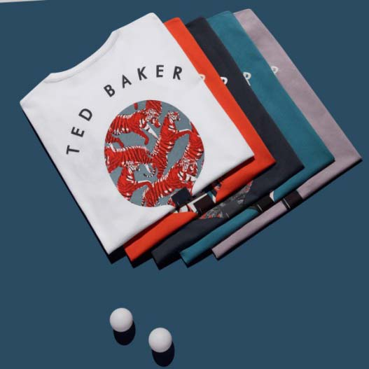 TED BAKER携手Art of Ping Pong 限量合作系列活力呈现